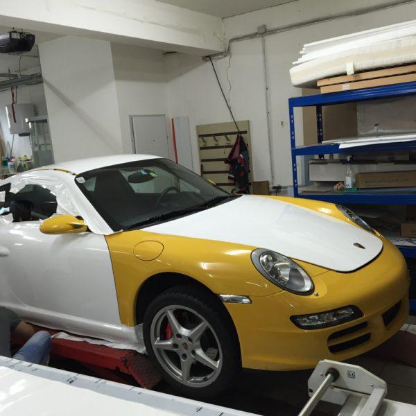 Car Wrap Porsche